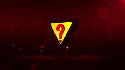 SHA Question Mark Image Red Animation