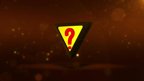 SHA Question Mark Image Yellow Animation