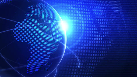 Global Business Network,Blue Earth,Loop CG動画