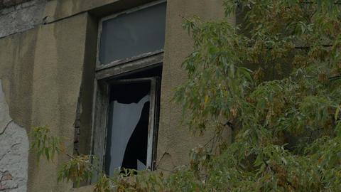 Broken Window on Desolate House Live Action