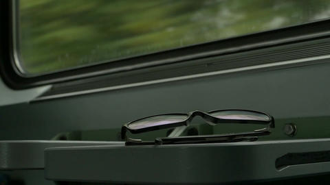 Eyeglasses in the Train Footage