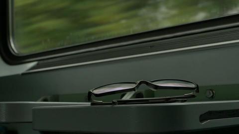 Eyeglasses in the Train Footage