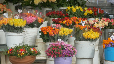 Flowers Bouquets for Sale Footage