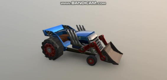 Tractor 3D Model