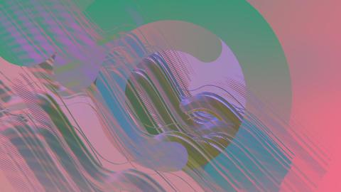 VJ loop010 screw exclution-color Animation