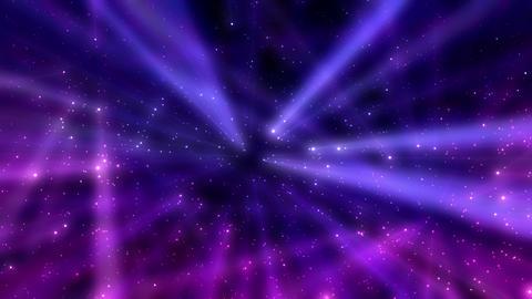 Glowing Particles Background Loop CG動画