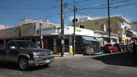 Mazatlan street intersection P HD 4766 Footage
