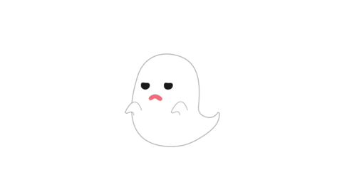 Halloween ghost Scaring-b Animation
