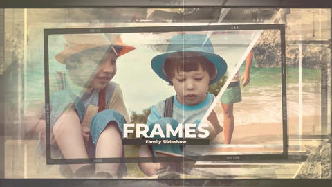 Family Frames Slideshow Premiere Pro Template