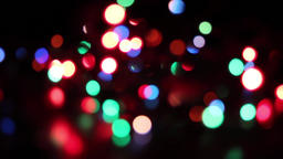 Christmas Lights Bokeh 影片素材