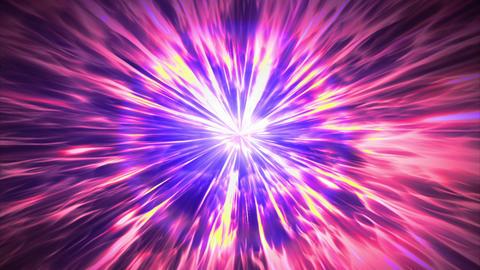 紫 光 集中線 スパーク ブラー パーティクル ループ アニメーション CG動画