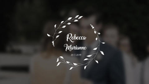 WeddingTitle5 After Effects Template