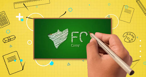 Back To School Logo Reveal After Effects Template