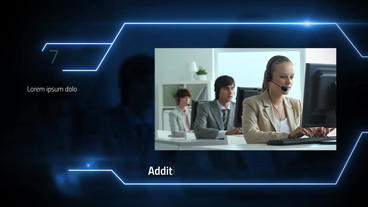 Corporate Digital Timeline After Effects Template