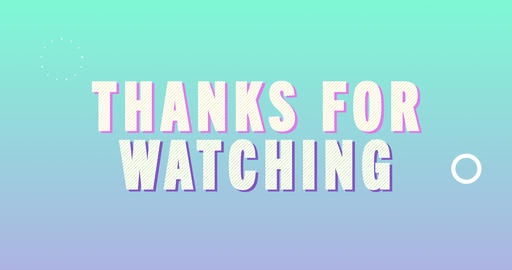 Thanks for watching. Retro Text Animation Animation