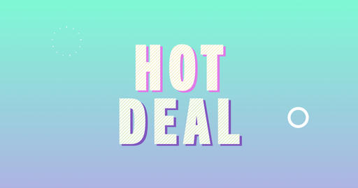 Hot deal. Retro Text Animation Animation