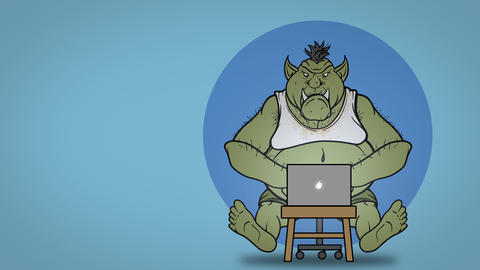 Do Not Feed the Trolls Animation Animation