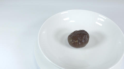 Peeled sweet chestnut013 Live Action