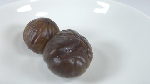 Peeled sweet chestnut022 Live Action