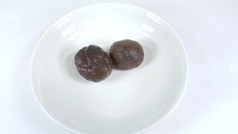 Peeled sweet chestnut025 Live Action