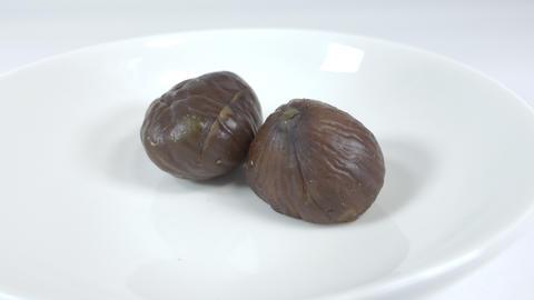 Peeled sweet chestnut027 Live Action