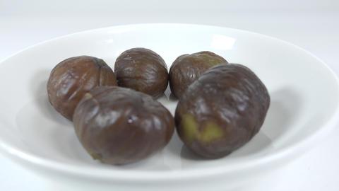 Peeled sweet chestnut029 Live Action
