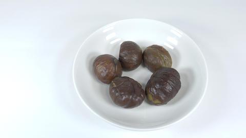 Peeled sweet chestnut031 Live Action