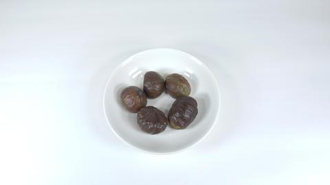 Peeled sweet chestnut032 Live Action