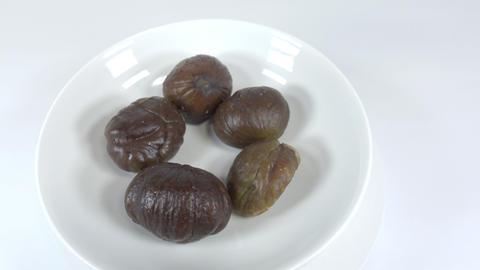Peeled sweet chestnut035 Live Action