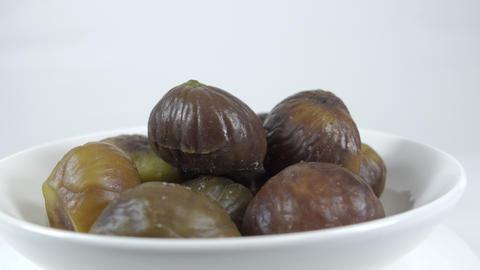 Peeled sweet chestnut041 Live Action