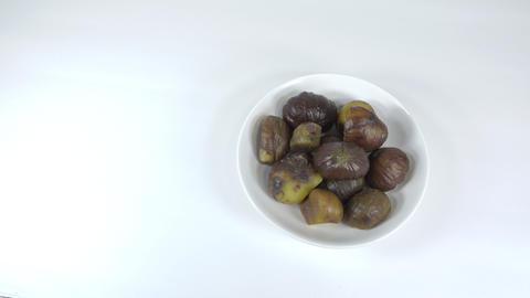 Peeled sweet chestnut046 Live Action