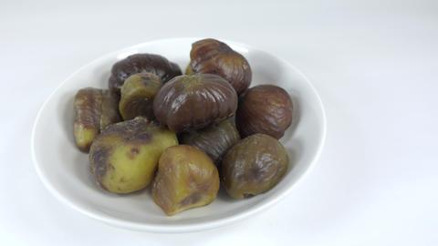 Peeled sweet chestnut048 Live Action