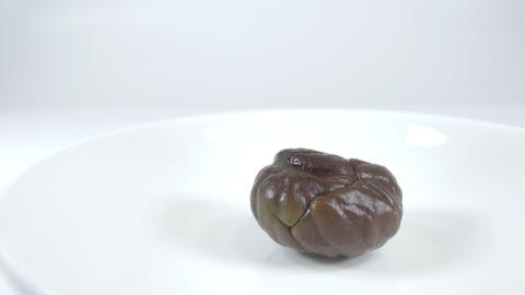 Peeled sweet chestnut003 Live Action