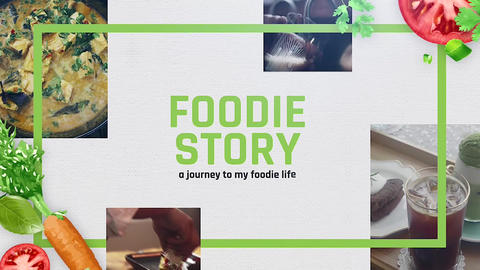 Food Story Apple Motion Template
