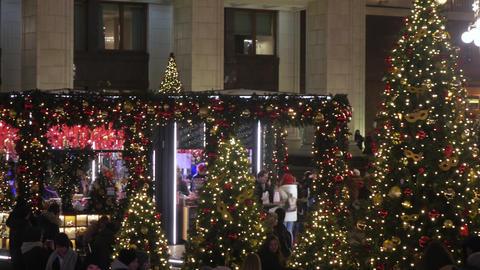 Festive festivities on Manezhnaya Square Live Action
