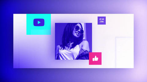 Youtube Intro Templates by JohnKOBA Design After Effects Template