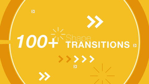Shapeful Transitions After Effects Template