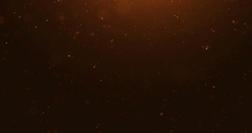 abstract gold sparkle dust particles flowing background, golden light spot movement, festive Live Action