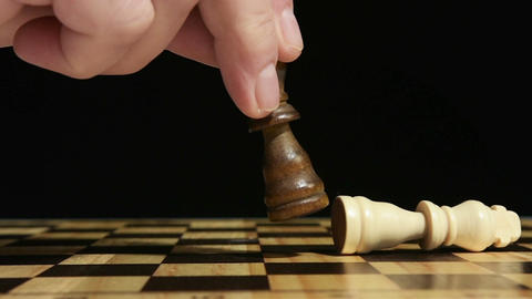 Chess game Footage