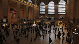 Timelapse view of busy people in Manhattan NYC New York City Footage