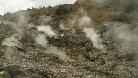 geothermal activity and geysers Live Action