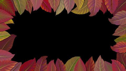 Autumn leaves-shadow Animation