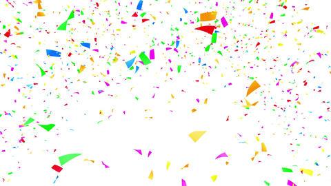 Confetti 2 Move 3LW L 4K CG動画素材