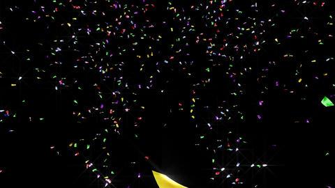 Confetti 2 Move 8LB 4K CG動画素材