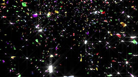 Confetti 2 Move 8LB L 4K CG動画素材