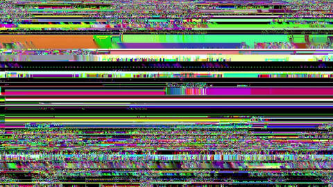 Glitch abstract backgrounds. Mobile device screen error. Digital neon noise abstract design. Animation