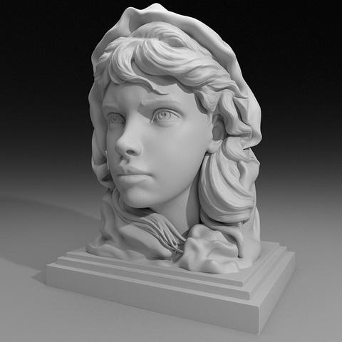 Fishermans daughter 3D Model