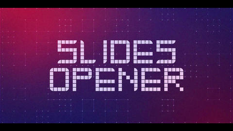 Slides Opener After Effects Template