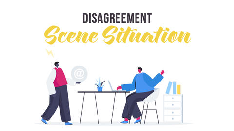 Disagreement - Scene Situation After Effects Template