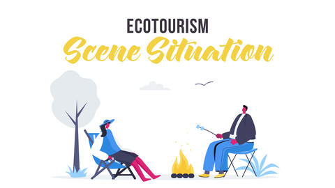 Ecotourism - Scene Situation After Effects Template